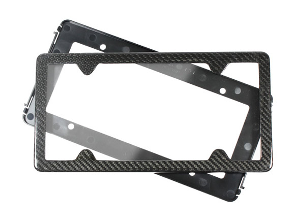 real carbon fiber license plate carbon fiber gear