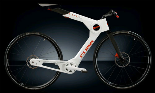 Carbon Fiber Bikes >> Cube S Carbon Fiber Collapsible Bicycle Concept Carbon Fiber Gear