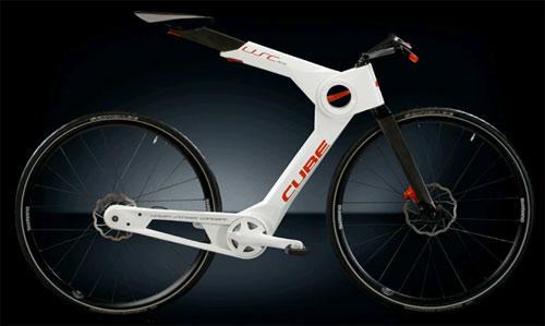 Cube S Carbon Fiber Collapsible Bicycle Concept Carbon