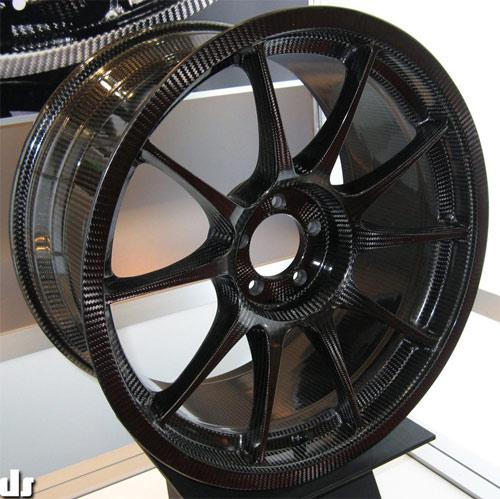 Weds Sport carbon fiber wheel