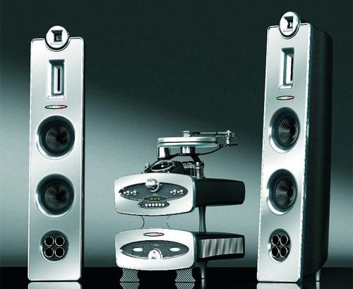 Pagani Carbon Fiber Home Audio System | Carbon Fiber Gear