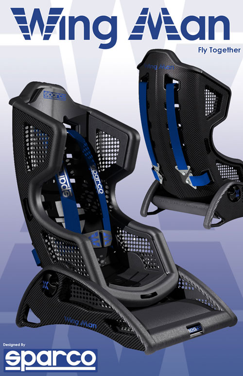 Carbon Fiber Children S Car Seat Prototype By Rory Craig