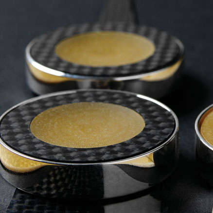 Carbon fiber F1 backgammon set