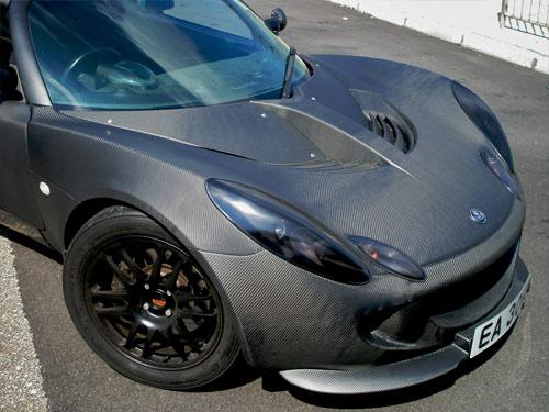 Jimmy Wong carbon fiber Lotus elise