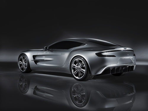 Aston Martin One-77 rear