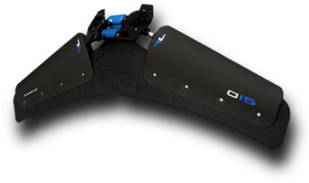 Lunocent carbon fiber monofin