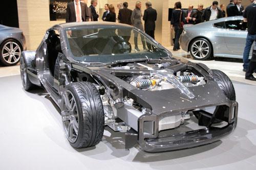 Aston Martin One-77 carbon fiber frame