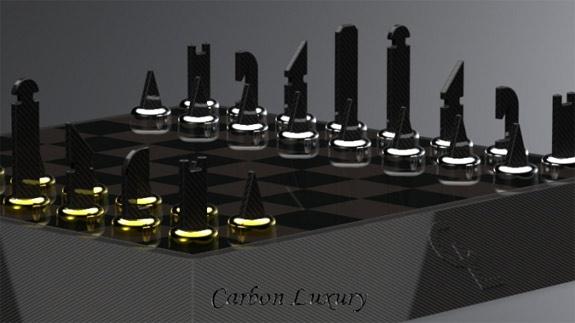Another Exclusive Carbon Fiber Chess Set Carbon Fiber Gear