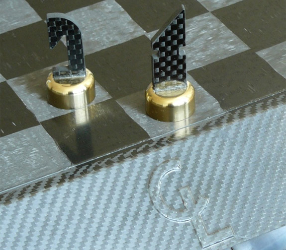 Another Exclusive Carbon Fiber Chess Set Carbon Fiber Gear
