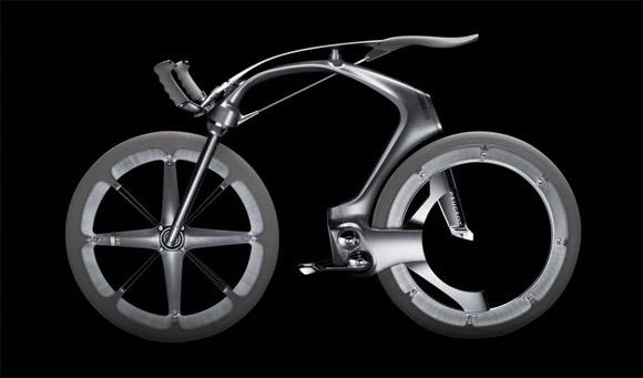 Peugeot B1k carbon fiber bicycle concept