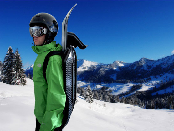 Snolo carbon fiber Stealth-X sled