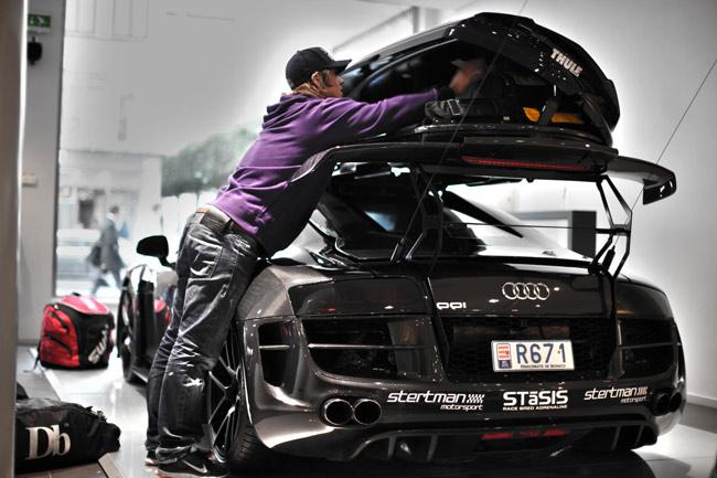 Jon Olsson carbon fiber Audi R8