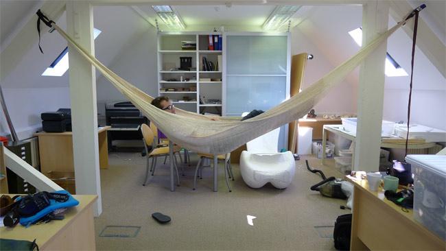 Shape testing with a hammock