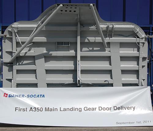 Main landing gear doors designed for all contingencies
